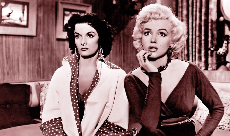 หนังเรื่อง Gentlemen Prefer Blondes